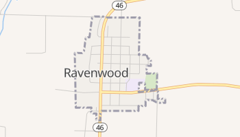 Ravenwood, Missouri map