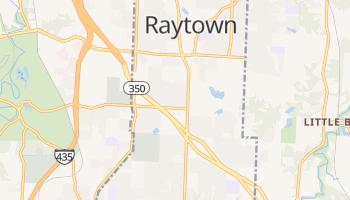 Raytown, Missouri map