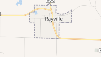 Rayville, Missouri map