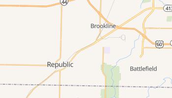 Republic, Missouri map