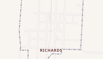 Richards, Missouri map