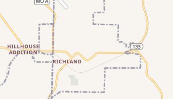 Richland, Missouri map
