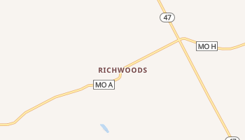 Richwoods, Missouri map