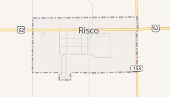 Risco, Missouri map