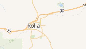 Rolla, Missouri map