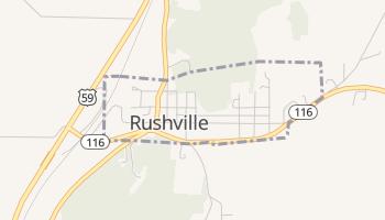 Rushville, Missouri map