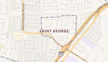 Saint George, Missouri map