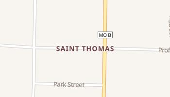 Saint Thomas, Missouri map