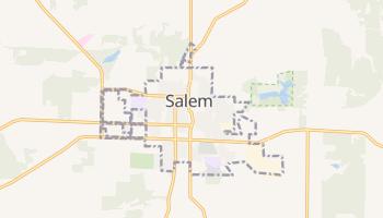 Salem, Missouri map
