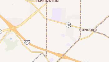 Sappington, Missouri map