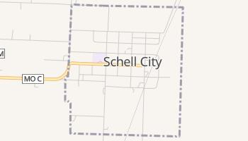 Schell City, Missouri map