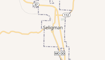 Seligman, Missouri map