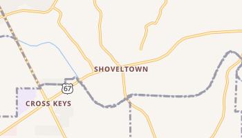 Shoveltown, Missouri map