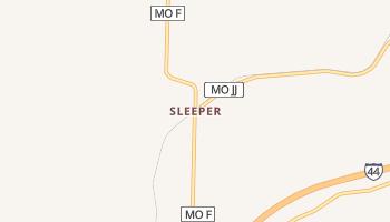 Sleeper, Missouri map