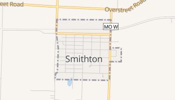 Smithton, Missouri map
