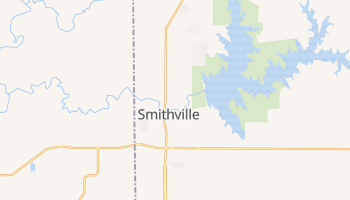 Smithville, Missouri map