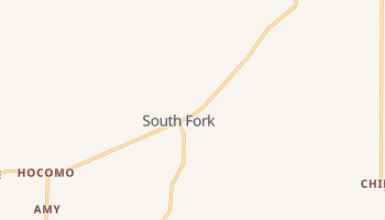 South Fork, Missouri map