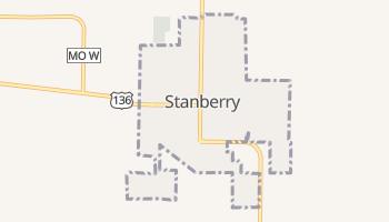 Stanberry, Missouri map
