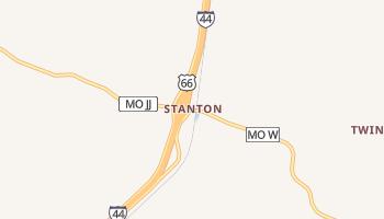 Stanton, Missouri map