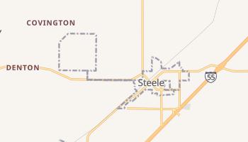 Steele, Missouri map