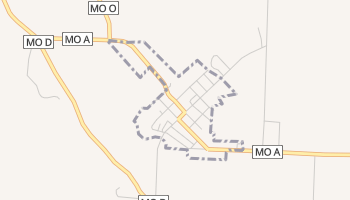 Stella, Missouri map
