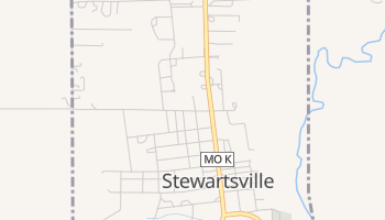 Stewartsville, Missouri map