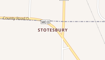 Stotesbury, Missouri map