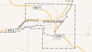 Stoutland, Missouri map