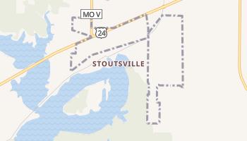 Stoutsville, Missouri map