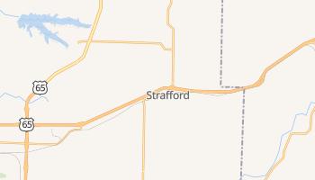 Strafford, Missouri map