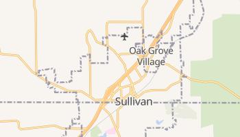 Sullivan, Missouri map