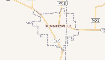 Summersville, Missouri map