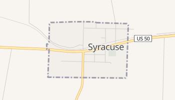 Syracuse, Missouri map