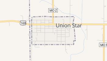 Union Star, Missouri map