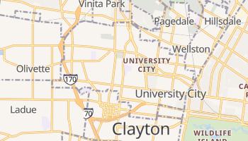 University City, Missouri map
