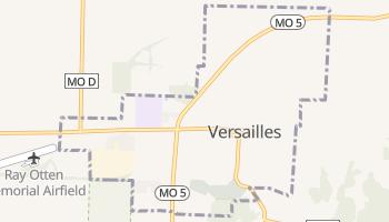 Versailles, Missouri map