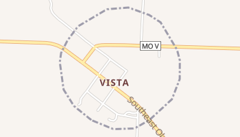 Vista, Missouri map