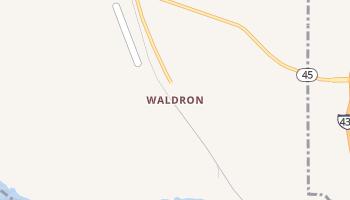 Waldron, Missouri map