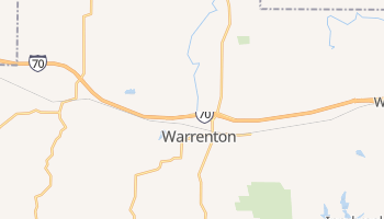 Warrenton, Missouri map