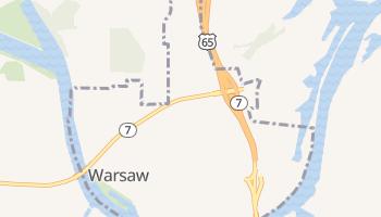 Warsaw, Missouri map