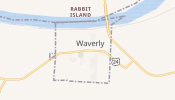 Waverly, Missouri map