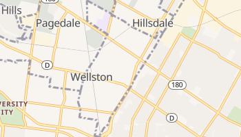 Wellston, Missouri map