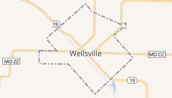 Wellsville, Missouri map