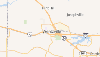 Wentzville, Missouri map