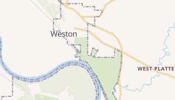 Weston, Missouri map