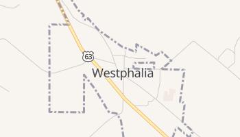 Westphalia, Missouri map