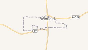 Winfield, Missouri map