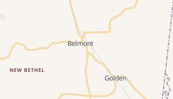 Belmont, Mississippi map