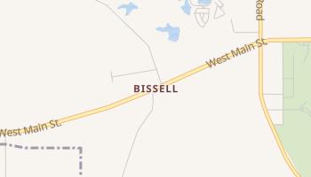 Bissell, Mississippi map
