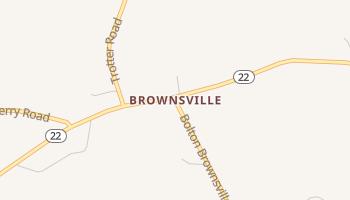 Brownsville, Mississippi map